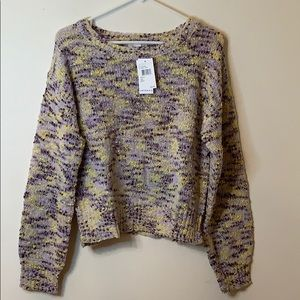Multi colored chunky sweater by Ten Sixty Sherman
